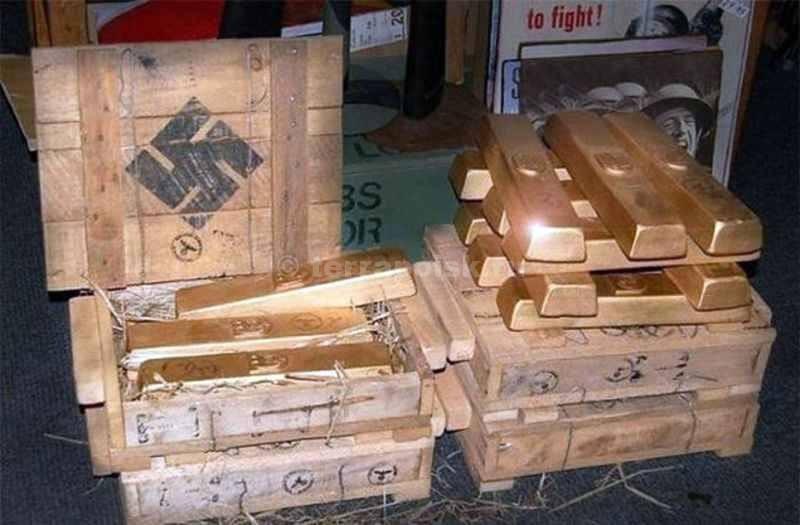 В Польше найден бронепоезд с 300 тоннами золота Третьего рейха