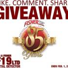 Быстрый розыгрыш F19 Fisher в Facebook