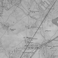 Старые карты Московской губернии